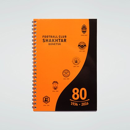 "Picture of Notebook A5 ""80 years of the Club"""