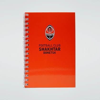 Picture of FC Shakhtar notepad, A6, 52 sheets