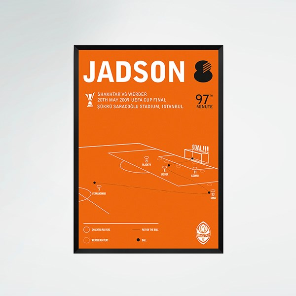"Picture of ""Goal by Jadson"" poster"