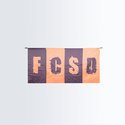 Picture of Flag FCSD striped