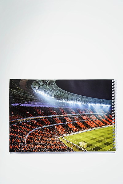Picture of FC Shakhtar Donbass Arena sketchbook, A4, 25 sheets