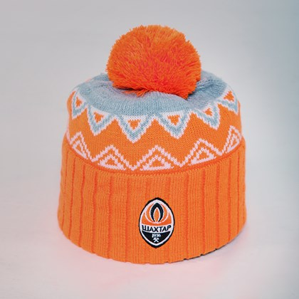 Picture of Hat orange-grey womens