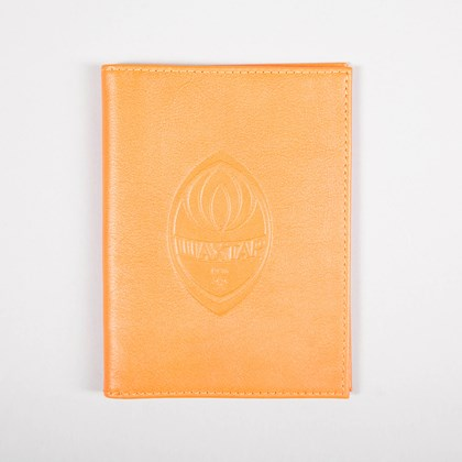 Picture of Leather Orange Cover for documents