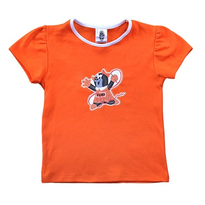 Picture of T-shirt Mole orange