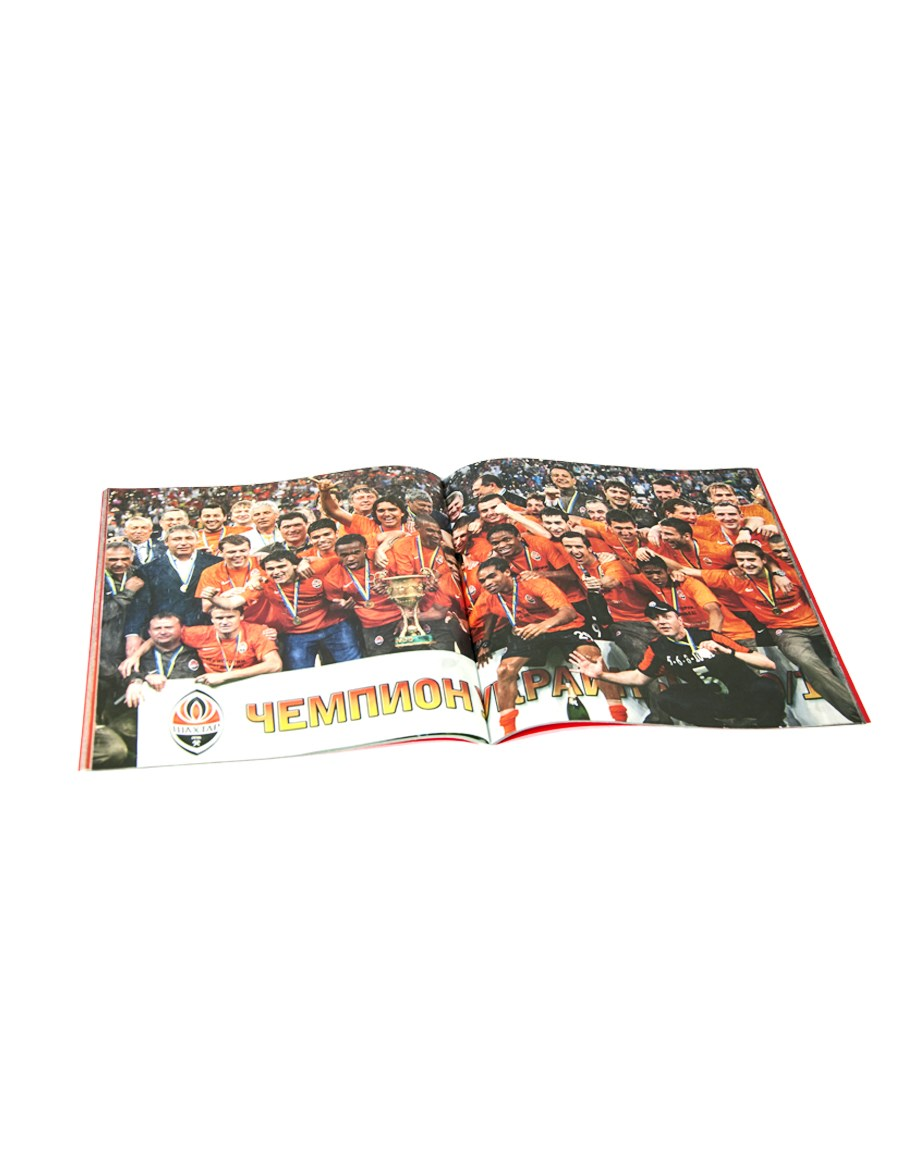 "Picture of Booklet ""Shakhtar"""
