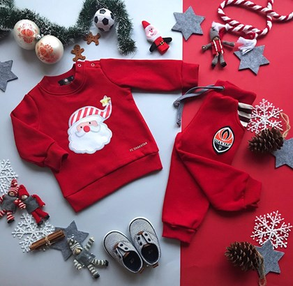 "Picture of Children's costume ""Santa"""