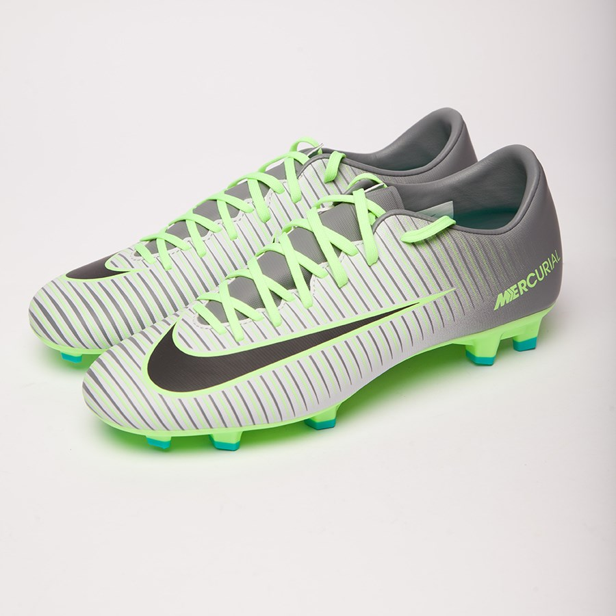 Picture of Gray Nike MERCURIAL boots