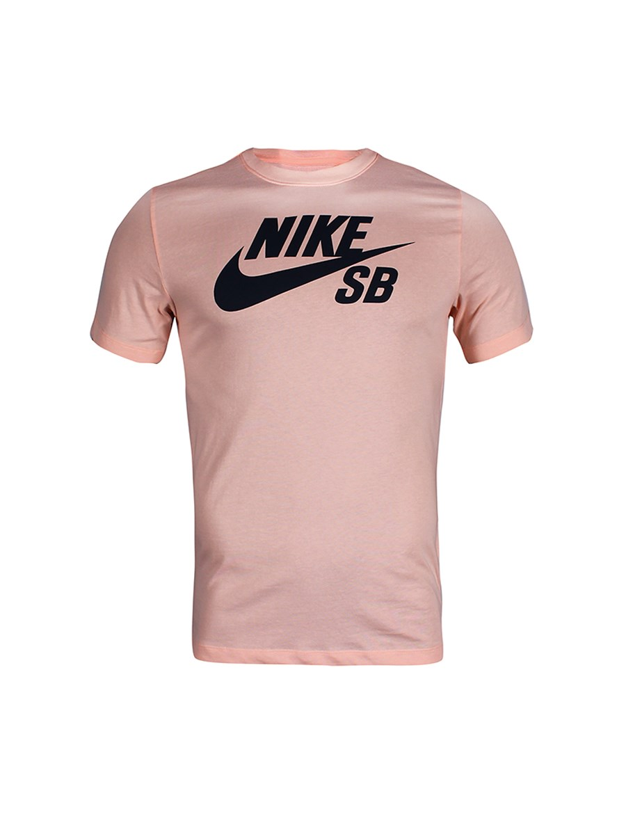 Picture of Nike T-shirt pink with print