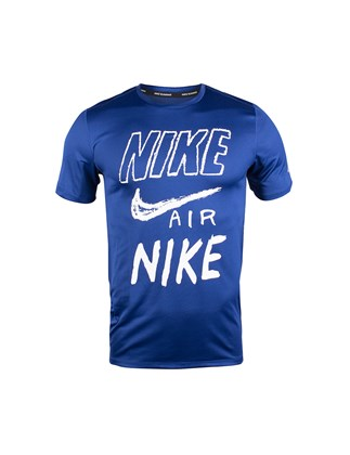 Picture of Nike blue t-shirt with print
