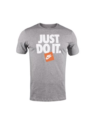 Picture of Nike gray t-shirt with print