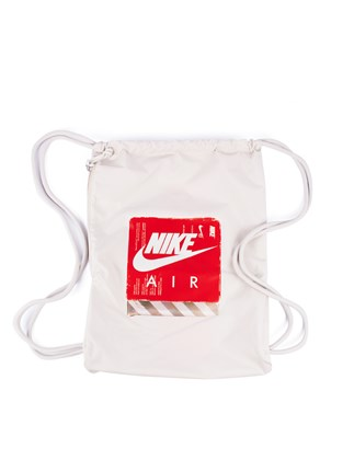 Picture of NIKE HERITAGE white bag with print