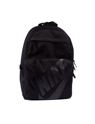 Picture of NIKE black Backpack with print