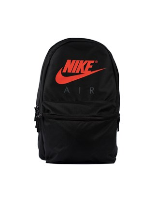 Picture of Nike Air black Backpack with print