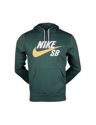Picture of Nike green hoodie with print
