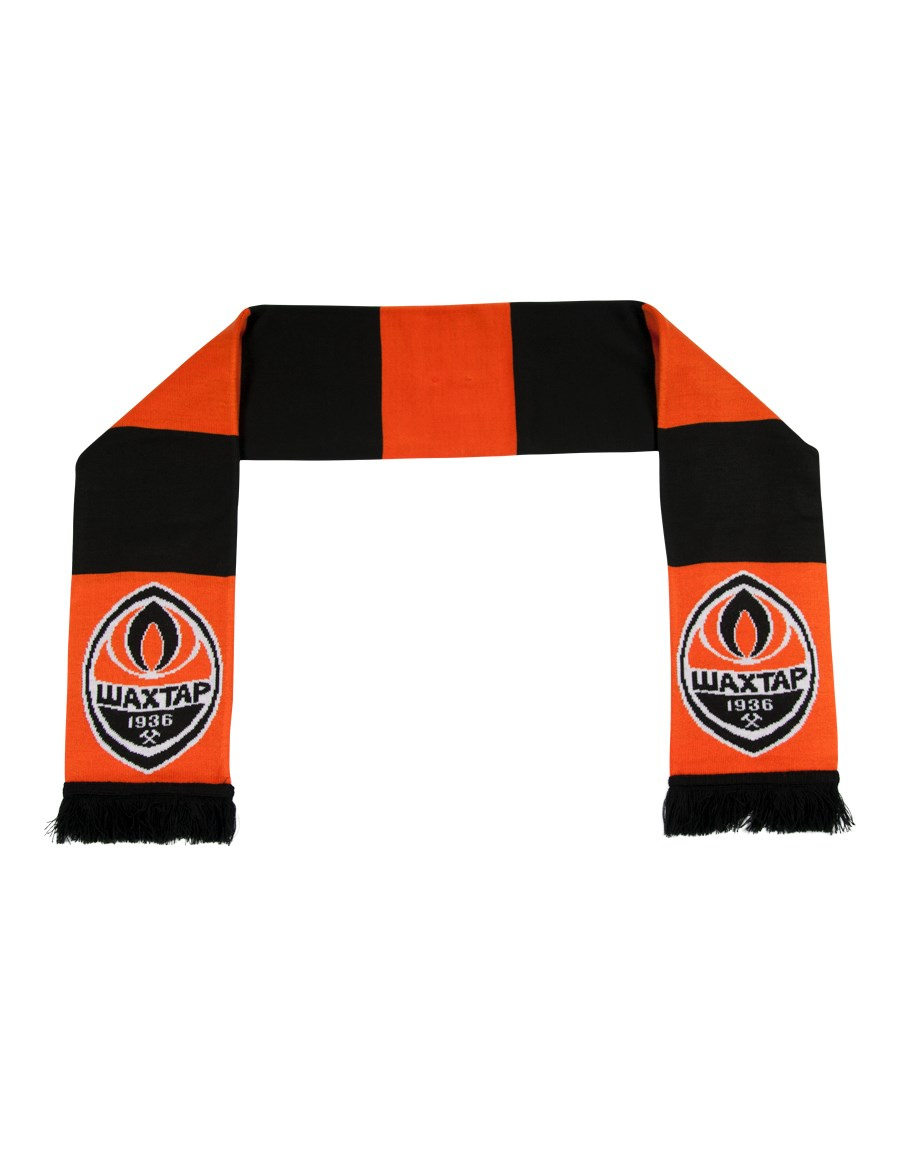 "Picture of FC ""Shakhtar"" striped 2019 scarf"