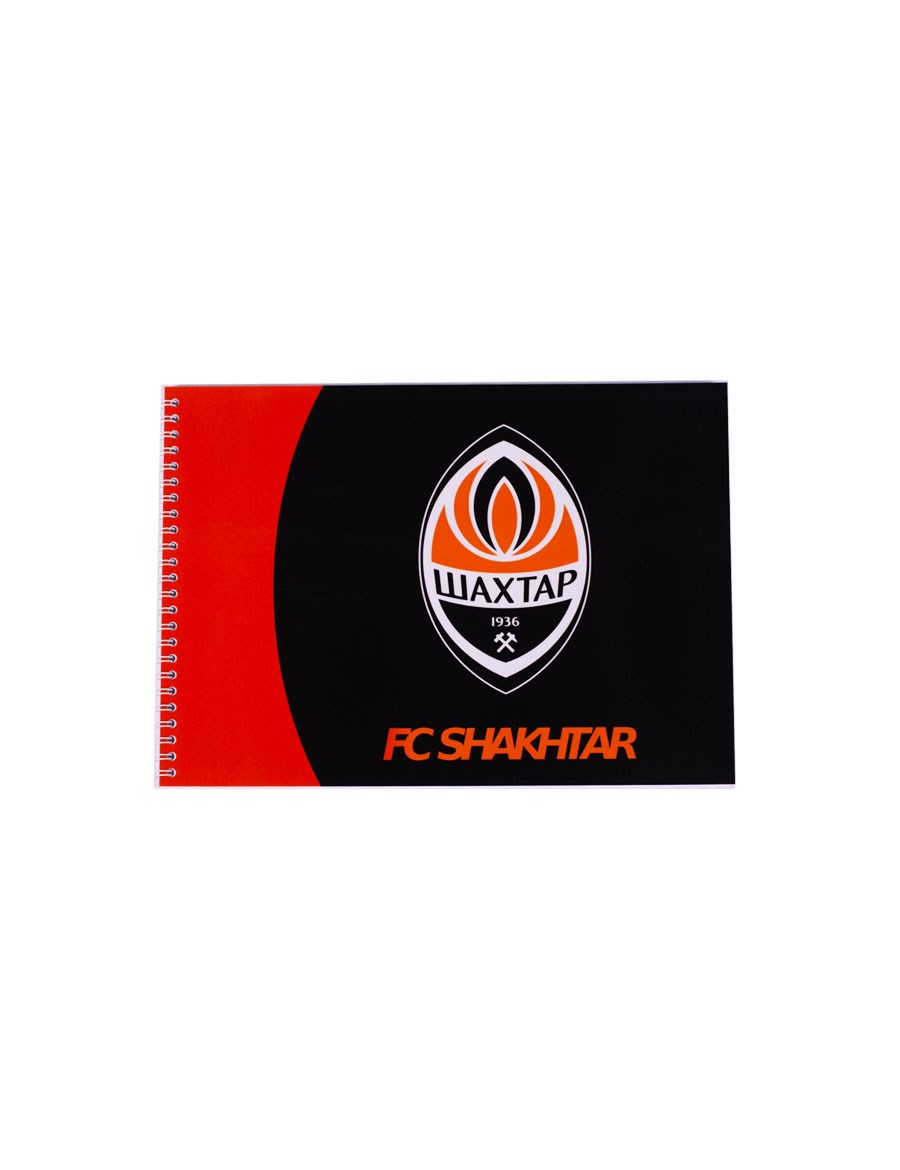 "Picture of FC ""Shakhtar"" notepad"