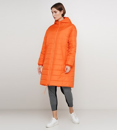Picture of Long orange down jacket 1936