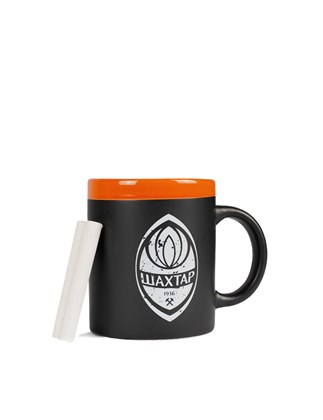 Picture of Black FC Shakhtar mug and chalks