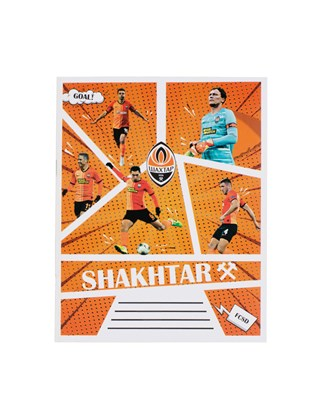 Picture of FC Shakhtar Comics notebook, 18 sheets