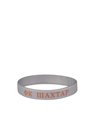 Picture of Grey FC Shakhtar silicone bracelet