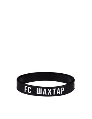 Picture of Black FC Shakhtar silicone bracelet