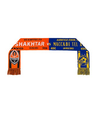 Picture of Shakhtar vs Maccabi Tel Aviv match scarf