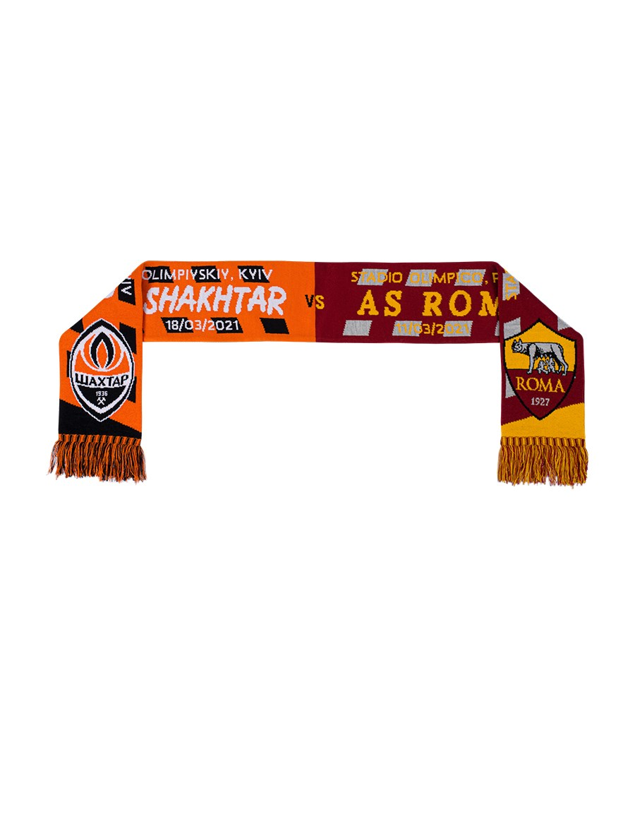 Picture of Shakhtar vs Roma match scarf