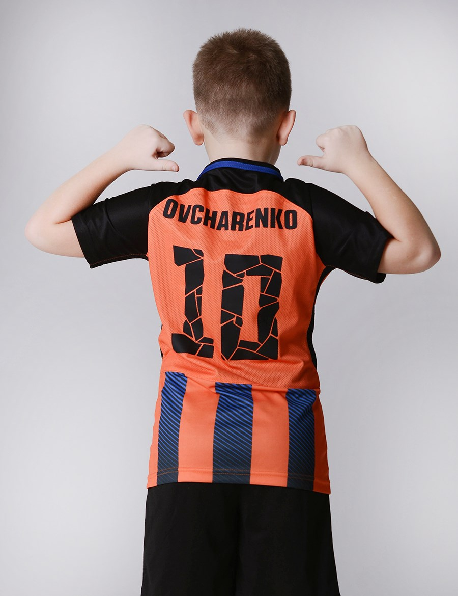 "Picture of FC ""Shakhtar"" children form a replica 17/18"