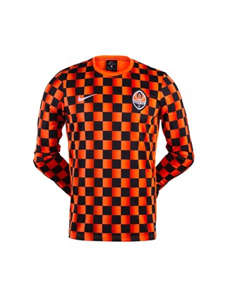 Picture of Black 2019/20 FC Shakhtar Nike training shirt with long sleeves